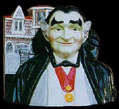 """WANTED: Star Jar Gallery Collection by Treasure Craft """"Grandpa Munster"""""""