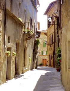 Pienza - a beautiful little Renaissance town in Tuscany