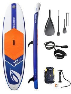Aquadesign IBRID 10.8 Stand Up Paddle Gonflable