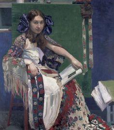 pintura de Josef Maria Auchentaller (1865-1949)