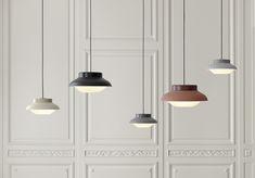 Collar lighting // Studio Sebastian Herkner for Gubi