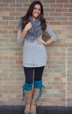 Lightweight Sweater Dress, $30.00