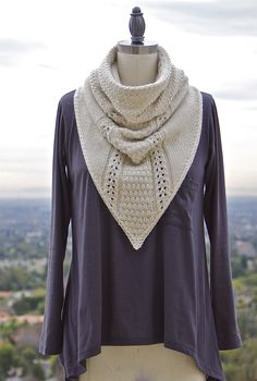 Cowboy Cowl PDF Knitting Pattern.  And this is why I need to practice my knitting skills :)