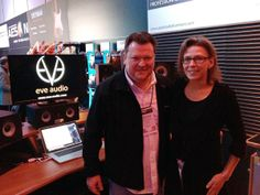 EVE's Kerstin with Christof from Synthax, Germany. Eve, Germany, Winter, Winter Time, Deutsch, Winter Fashion