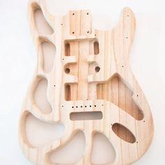 Build Your Own Guitar, Electric Guitar Kits, Guitar Diy, Unique Guitars, St Style, Guitar Parts, Guitar Building, Guitar Design, Unfinished Wood