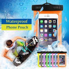 Universal Phone Bags Pouch Strap iPhone X Samsung S8 Waterproof Smartphone Case  #UnbrandedGeneric