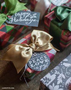 Printable Christmas Gift Tags and Labels | Worldlabel Blog