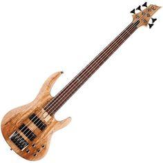 Save $ 91 order now ESP LTD B Series B-205 Five-String Bass Guitar – Natur
