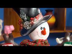 Queremos enseñar a elaborar un Nieve arbolito de luz - YouTube Christmas Sewing, Plaid Christmas, Christmas Crafts, Christmas Decorations, Xmas, Christmas Ornaments, Holiday Decor, Dyi Crafts, Buffalo Plaid