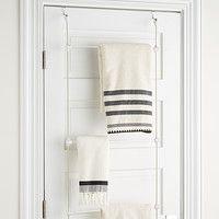 Small Bathroom – 4 Tips To Choose The Best Bathroom Storage Units Over Door Towel Rack, Bath Towel Racks, Towel Hangers For Bathroom, Door Rack, Towel Rack Bathroom, Towel Storage, Door Storage, Hanging Towels, Storage Racks
