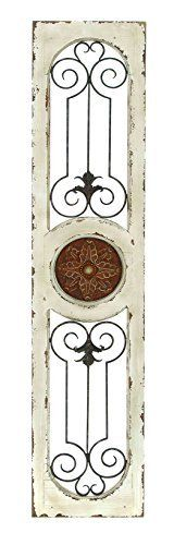 Wood Metal Wall Panel, 58 by 12-Inch