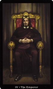 Steampunk Tarot | The Hanged Man