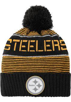 Pittsburgh Steelers Black Magna Kids Knit Hat Steelers Hats f06f7628e