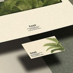 Anga http://ift.tt/24xNEzs #minimal #mindsparklemag #graphicdesign #design #green #palm #nature #leaf #hotel #businesscard #logo #logotype #corporatedesign #brasil #beauty #beautiful by mindsparklemagazine