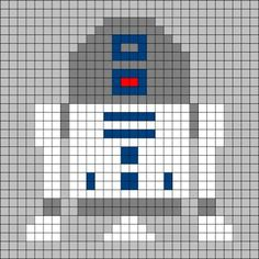more star wars crochet. I am gonna use this for a cross stitch pattern!