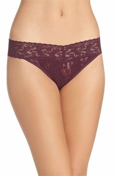 I like Hanky Panky Original Rise (not low rise) - found at Nordstrom. They're one size. You choose the color