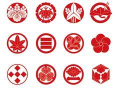 "Japanese family crests ""kamon"""