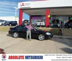 #HappyAnniversary to Robert Martinez on your 2012 #Chevrolet #Impala from Ibarra Sergio at Absolute Mitsubishi!