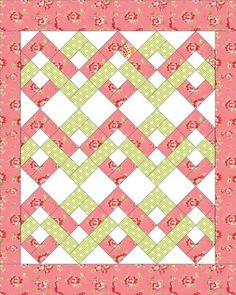 Check out this intersting patchwork quilts - what an artistic design Quilt Baby, Lap Quilts, Jellyroll Quilts, Strip Quilts, Scrappy Quilts, Patchwork Quilting, Quilt Blocks Easy, Baby Quilts Easy, Big Block Quilts