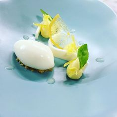 Citron de Nice, basilic, coconut by Matthieu Godard