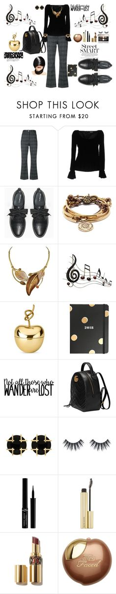 """MUSIC TO MY SOUL"" by destinystarheaven ❤ liked on Polyvore featuring Wood Wood, Tom Ford, Max&Co., Lizzy James, Benzara, Ghidini 1961, Kate Spade, Gucci, Valentin Magro and Giorgio Armani"