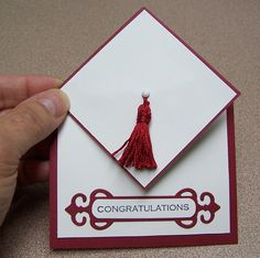 Graduation card with papertrey ink products cards pinterest