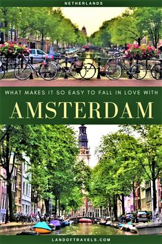 Visiting Amsterdam, Netherlands: A detailed travel guide on Amsterdam and why it's so easy to fall in love with this European gem - Land Of Travels #amsterdam #netherlands #dutch #europe #travel #europeanvacation #bucketlist #travelguide #iamsterdam #rijksmuseum #museums #amsterdamcanals #amsterdamcityguide #annefrankmuseum #vangogh #amsterdamfood #thingstodo #eurail #europetrip #eurotrip #europevisit #holland #keukenhof #budgettravel #traveltips #travelblog #amsterdamthingstodo