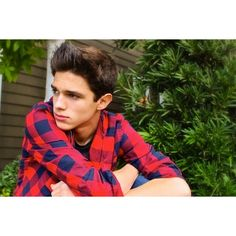 Vine Star Brent Rivera Unveils Breezy Single 'Doubt Your Doubts'... ❤ liked on Polyvore featuring boys and faceclaims