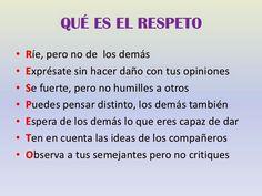 valor del respeto frases significado
