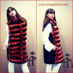 Shop online at http://www.romapellicce.com #chinchilla #chinchillavest #fursvest #cashmere #cincilla #jiletcincilla #pellicce #www.romapellicce.com #altamodafurs