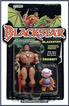 blackstar figures | Blackstar - Black Star - Galoob Action Figure