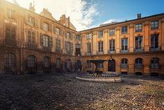 Place d'Albertas, Aix-en-Provence, France