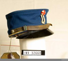 Forage Cap m/1895 for Troopers at the Life Guards of Horse.