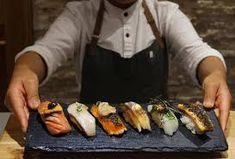 Best Omakase Sushi in NYC, Ranked by Price - Thrillist Sushi Taco, Sushi Menu, Sushi Party, Sushi Counter, Ny Food, Nigiri Sushi, Chef's Choice, Best Sushi, Japanese Sushi
