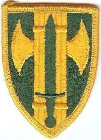 WorldMilitary - 18 Military Police Brigade Patch. US Army