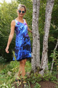Designer Canadian made Wearable Art by Monika Wright. It is ideal for any occasion, but especially for travel and cruise wear. Top quality wrinkle free fabrics and versatile designs. Available in XS-S-M-L-XL Organic Art, Cruise Wear, Art Studios, Wearable Art, Fashion Art, Art Gallery, Fabrics, Abstract, Artist