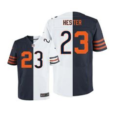 Mens Nike Chicago Bears  23 Devin Hester Limited Team 1940s Two Tone NFL Jersey  Devin 56676697f