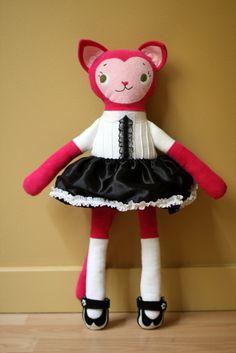 Laurel kitty.  #katykitty #mmmcrafts #ragamuffinbaby