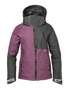 £112  686-GLCR-Cirque-Thermagraph-Womens-Snowboard-Jacket-2015-Plum-Heather-Twill
