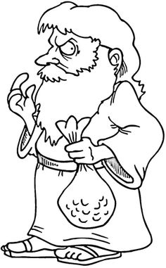 judas iscariot betrays jesus coloring page - Jesus Praying Hands Coloring Page