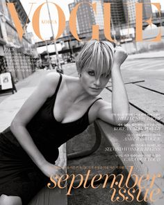 Amber Valletta Covers Vogue Korea September 2015