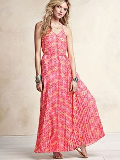 Knife-pleat Maxi..just bought it for an informal backyard wedding we have next month.
