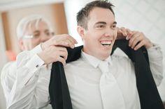 Groom enjoying gettingready Congratulations, Groom, Reception, Wedding Day, Fashion, Pictures, Pi Day Wedding, Moda, Fashion Styles