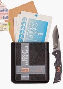 Gerber Bear Grylls - Scouts Essentials Kit. There are a few non-negotiable items that every outdoor adventurer must have, and this is one of them. This is the cornerstone of packing for any trip through the backcountry.