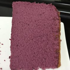 """Purple Yam Sponge Cheesecake Recipe adapted from Happy Home Baking Ingredients: (makes one 8"""" cake) 125g cream cheese, cut into cubes 60g unsalted butter, cut into cubes 5 egg yolks (55g eggs) 125g milk 1 teaspoon vanilla extract 1/4 tsp salt 75g cake flour 30g corn flour 1 tablespoon purple yam powder 1…"""