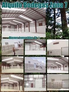 GUATEMALA REAL ESTATE  *   Bienes Inmuebles Guatemala: Alquilo Bodega Zona 7 dentro de garita Guatemala $...