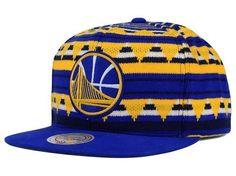 """Golden State Warriors NBA Mitchell & Ness """"Mixtec"""" Snapback Hat #MitchellNess #GoldenStateWarriors"""