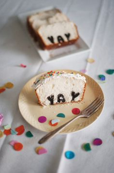 Cake w/ letters