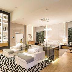 Luxo define essa suíte de 100 m2 que está decorada lá na Casa Cor/RS. Projeto HB Interiores  #decoracao #decor #arquitetura #homedecor #design #instadesign #ambientação #olioliteam #quarto #bedroom #quartodecasal #designlifestyle #designlovers