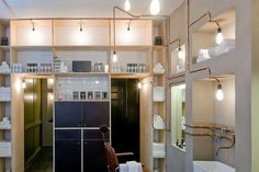 Interior/Exhibition/VMD :: Barber shop by Ard Hoksbergen, Amsterdam
